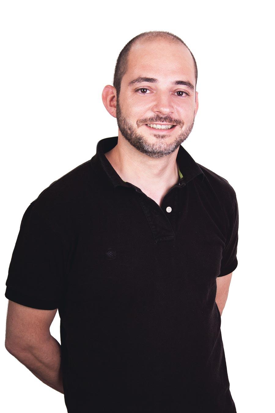 Víctor Jiménez, secretario comarcal del PSPV. FOTO EPDA