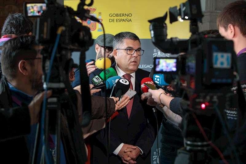 El delegado del Gobierno en la Comunitat Valenciana en funciones, Juan Carlos Fulgencio. EFE