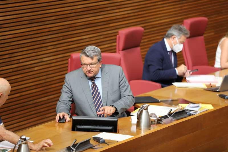 Fernando Llopis, diputado de Ciudadanos en Les Corts Valencianes. EPDA.