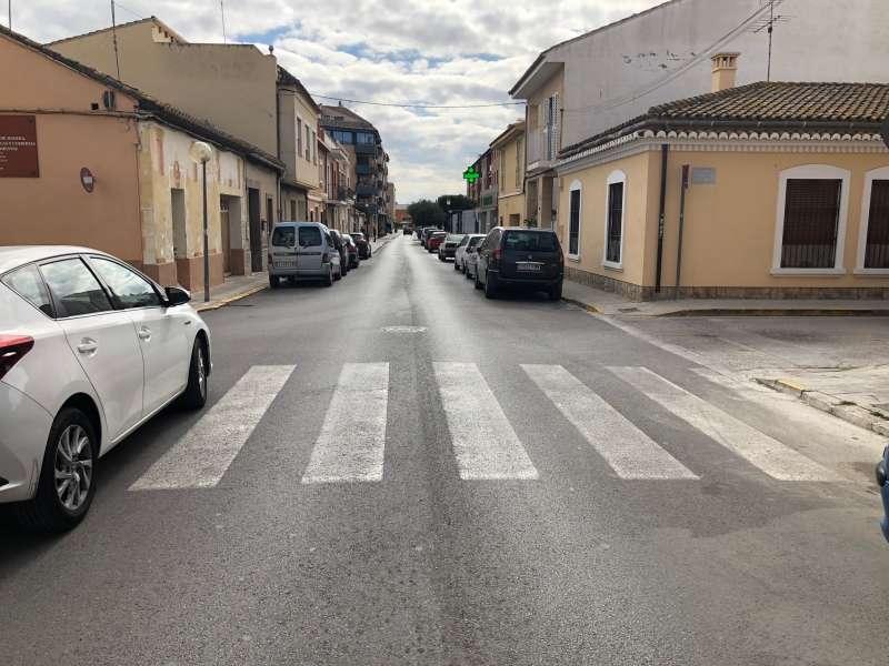 Casco urbano de Rocafort. EPDA