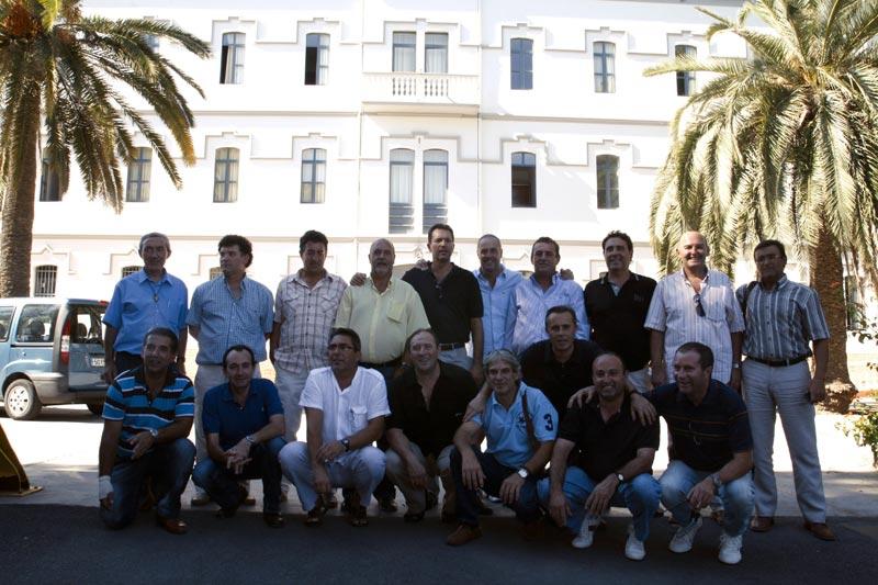 Los antiguos compañeros del Seminario de Godella. FOTO EPDA