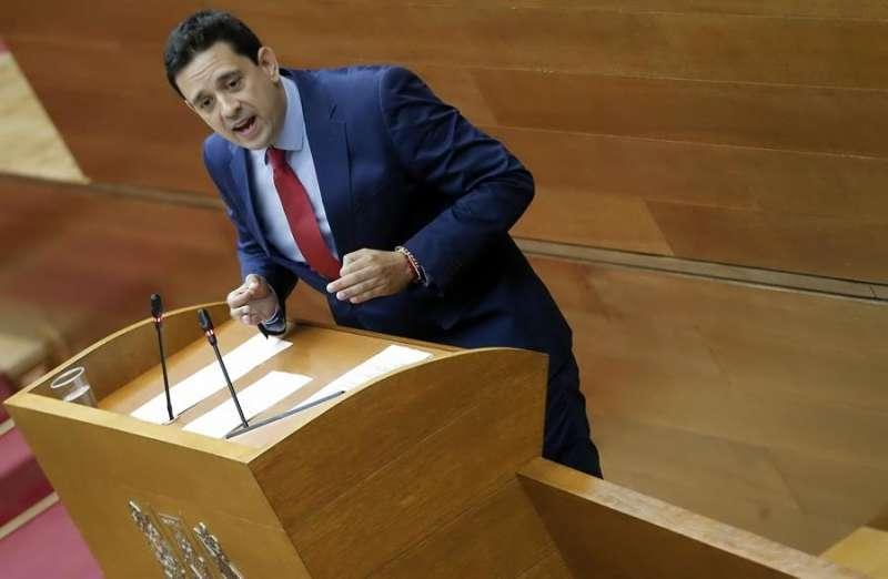 El diputado del PP José Juan Zaplana. EFE/ Manuel Bruque/Archivo