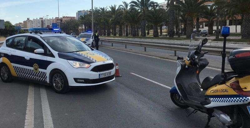 Policía de Alicante en una imagen de archivo. EPDA
