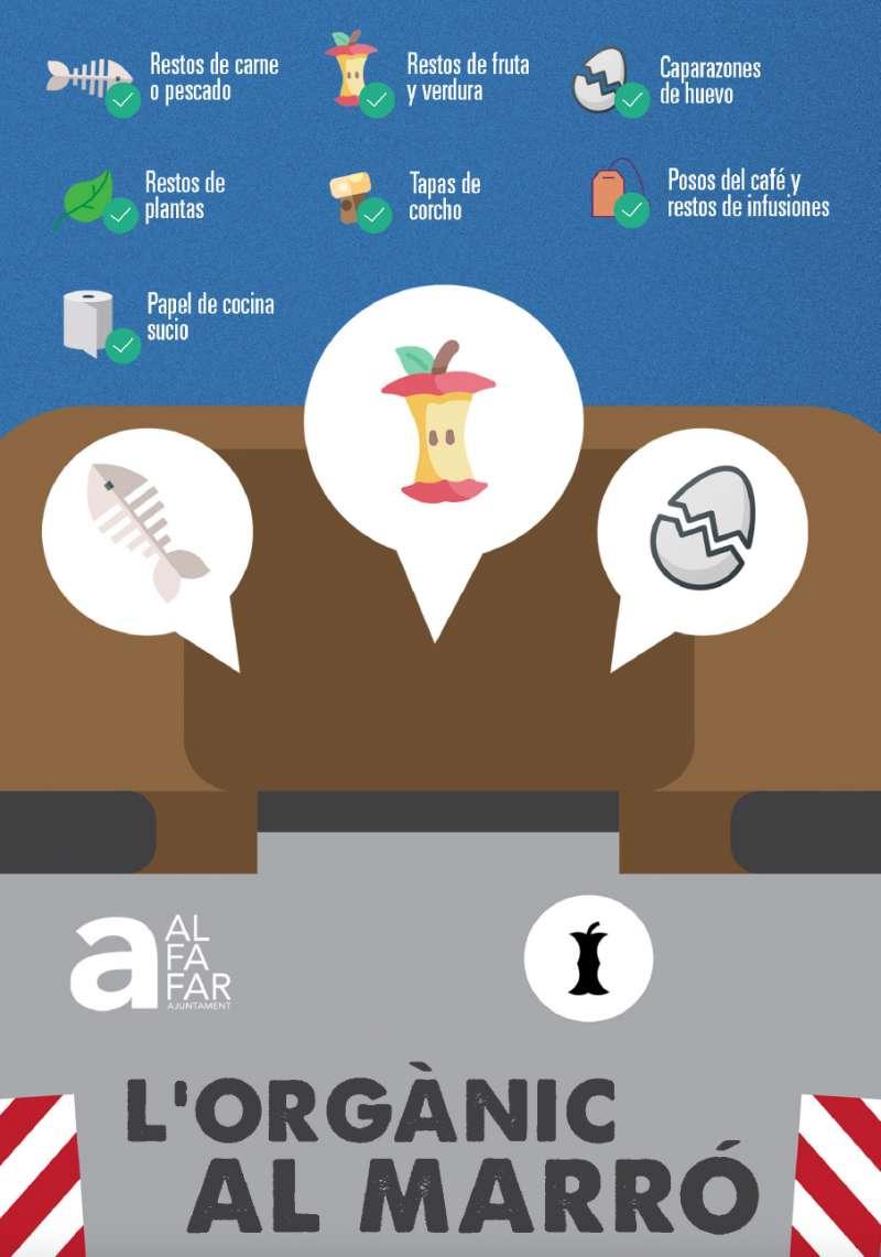 Cartel de la campaña de concienciación. EPDA