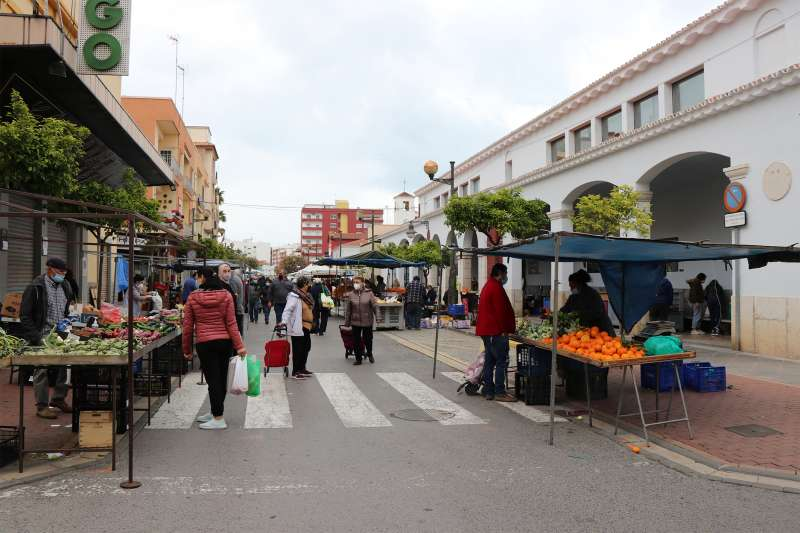 Mercado Sagunt. / EPDA
