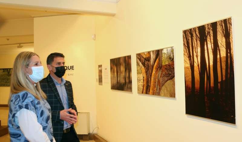 La muestra se inauguró el 25 de marzo