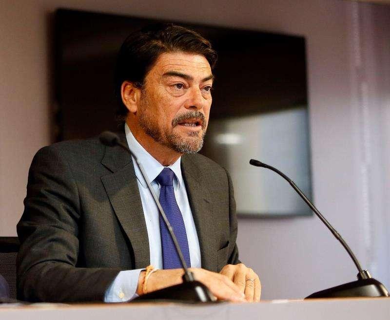 El alcalde de Alicante, el popular Luis Barcala. EFE/Archivo