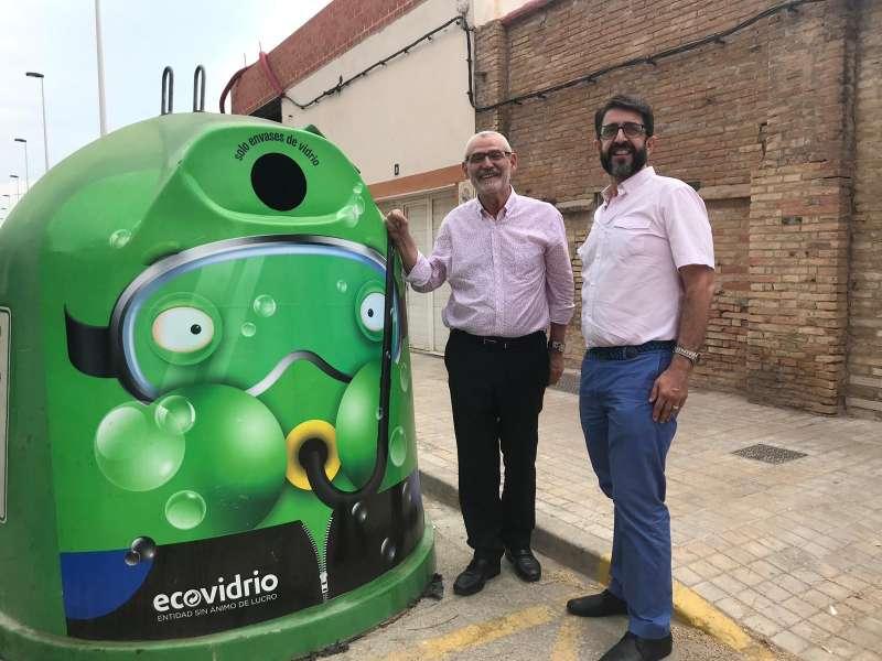 Contenedor Ecovidrio