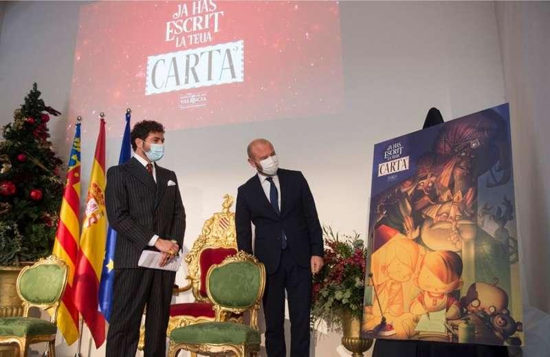 El presidente de la corporación provincial, Toni Gaspar, durante la presentación de la campaña, en una imagen facilitada por la Diputación. EFE