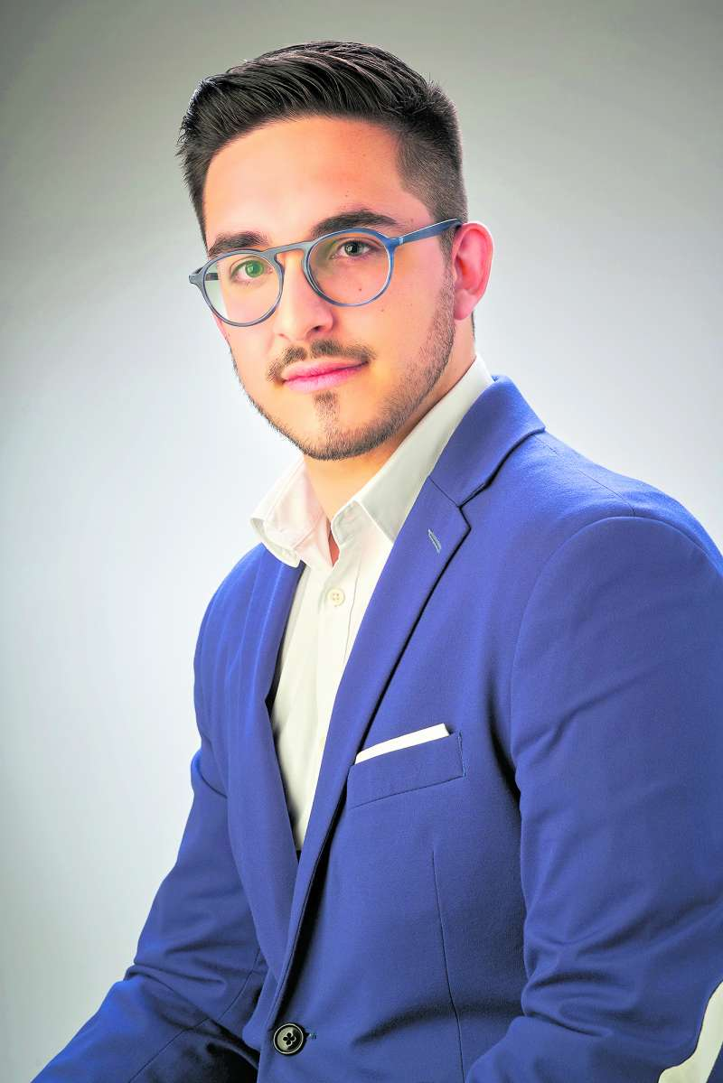 Hector Troyano, candidato del Partido Popular en Vilamarxant./ epda
