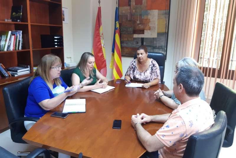 La reunión tuvo lugar en la Diputación
