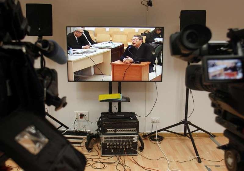 Juicio en la Audiencia Provincial contra siete personas por el asesinato del alcalde de Polop. EFE/Morell