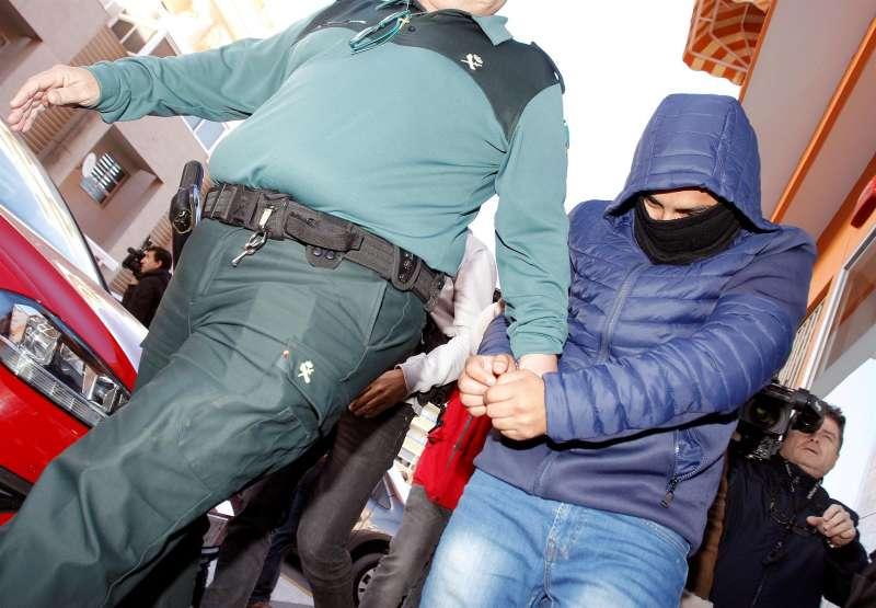 Imagen de archivo de uno de los detenidos como presunto autor de la violación grupal en Callosa d