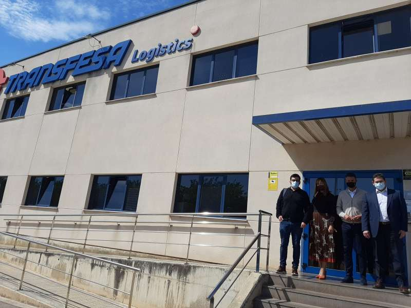 Visita empresa Transfesa Logistics./EPDA