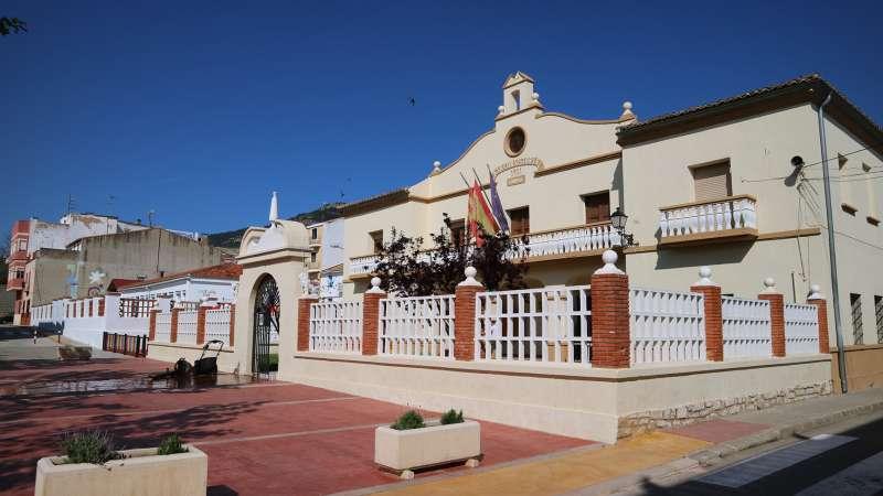 Ayuntamiento de Chera. / A. G.