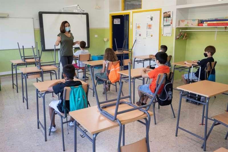 Imagen de un aula.
