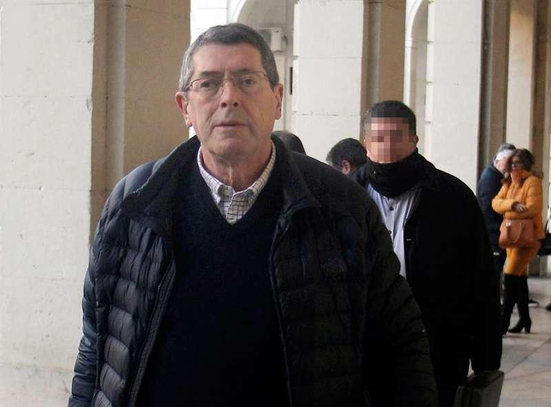 El acusado Juan Cano. EFE/Morell