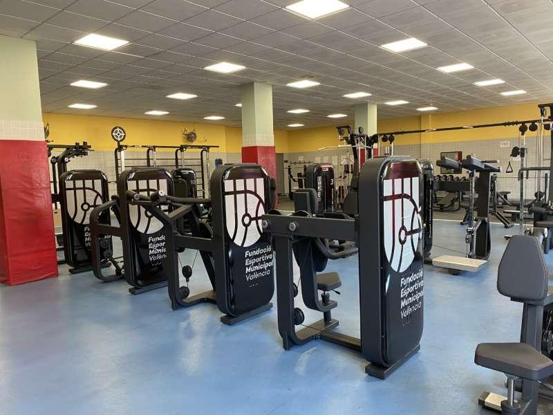 Sala de musculación. EDPA