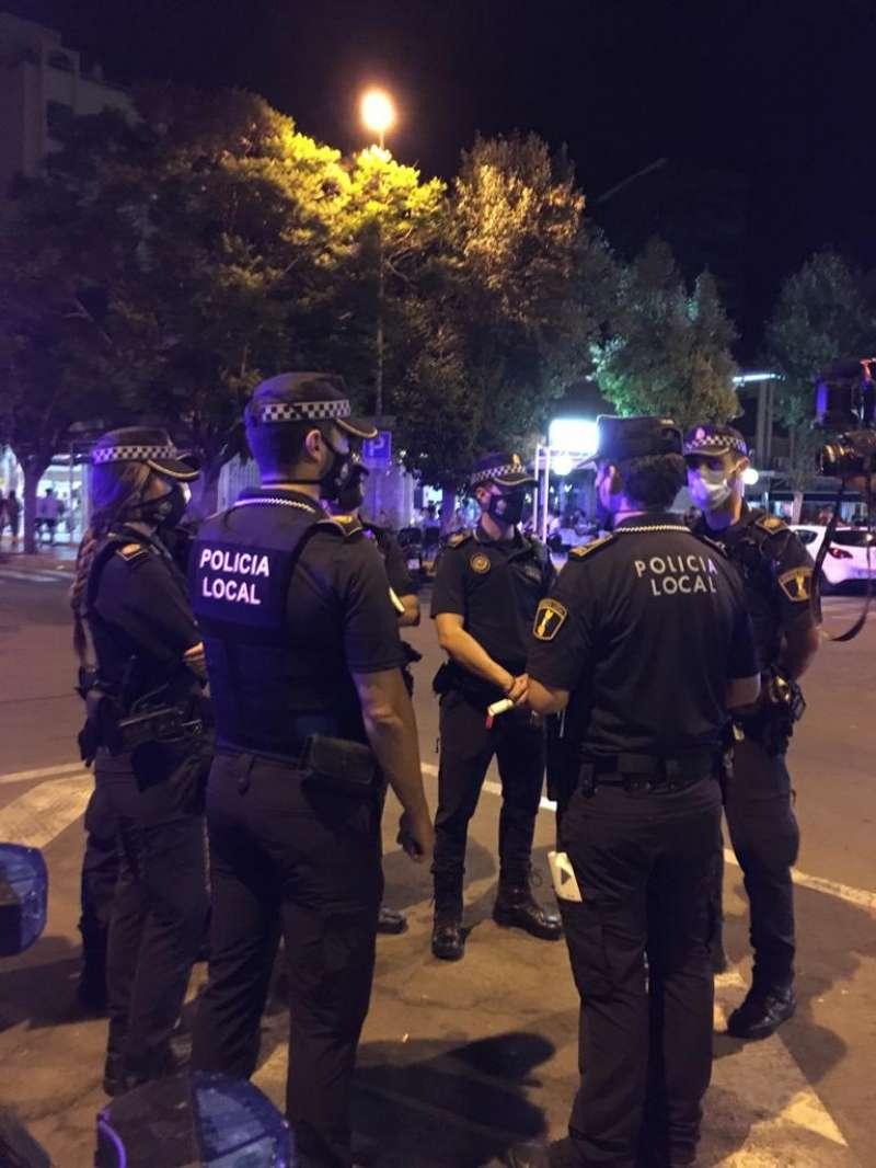 Policía Local, Alicante./ EPDA