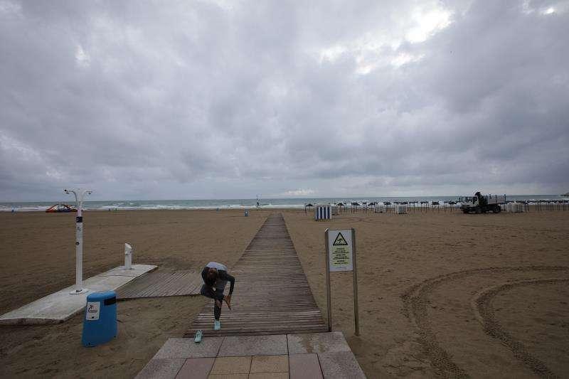 Imagen de archivo de la playa de Gandia. EFE/Archivo