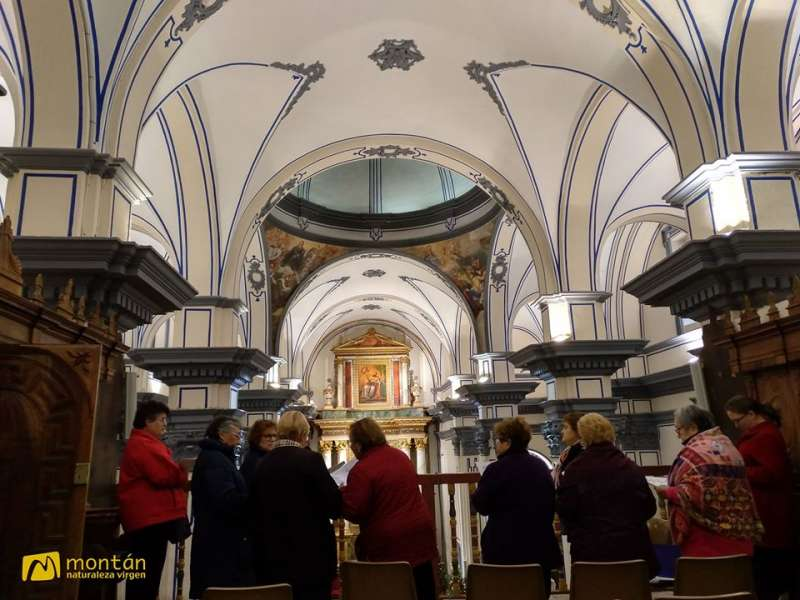 La iglesia de los servitas acogí la celebración