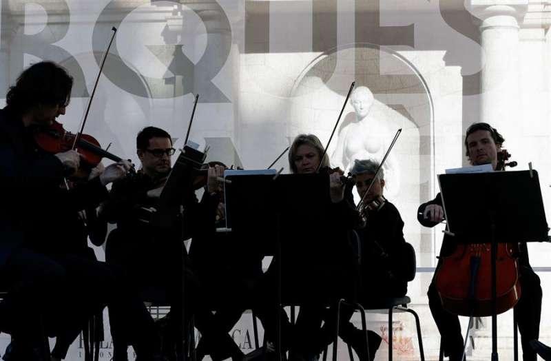 Imagen de archivo de un concierto de la Orquesta de Valencia. EFE/ Juan Carlos Cárdenas/Archivo