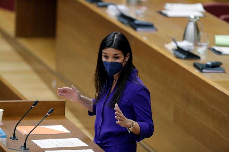 La portavoz de Ciudadanos, Ruth Merino