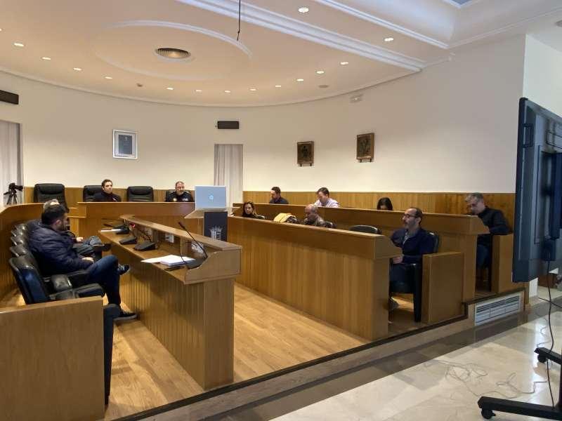 Reunión de la Mesa Crisis COVID-19 en Paterna. EPDA
