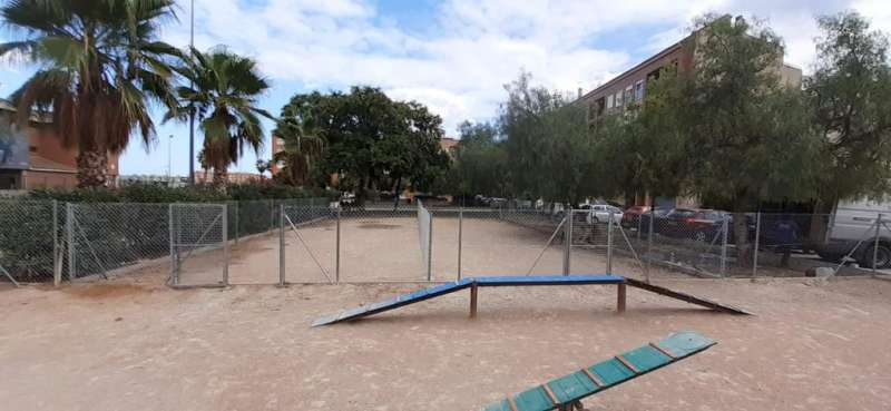 Imagenes de uno de los parques