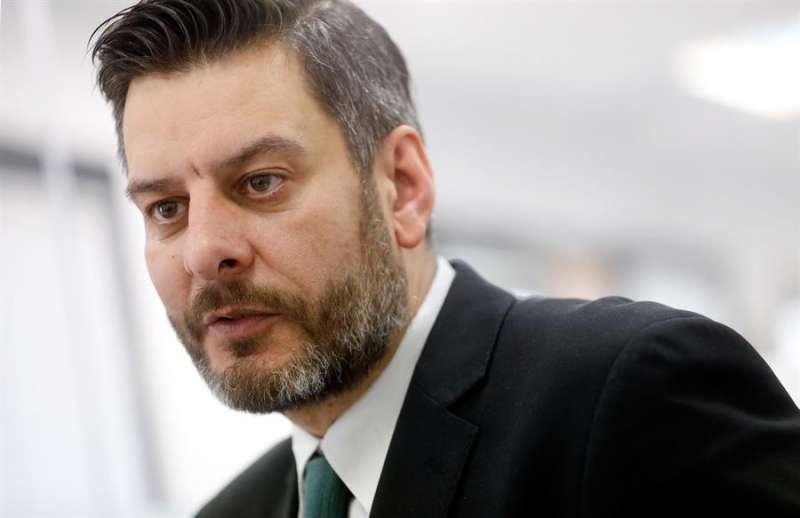 Carlos Galiana, concejal de Fiestas de Valencia. EFE