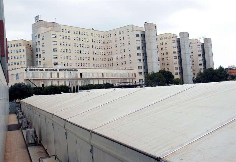 Hospital General Universitario de Alicante.EFE/Morell