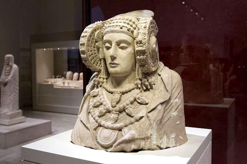 En la imagen, la Dama de Elche. EFE/Archivo