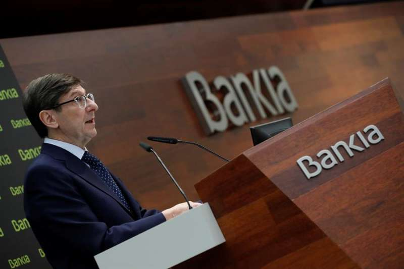 El presidente de Bankia, José Ignacio Goirigolzarri. EFE/ Zipi/Archivo