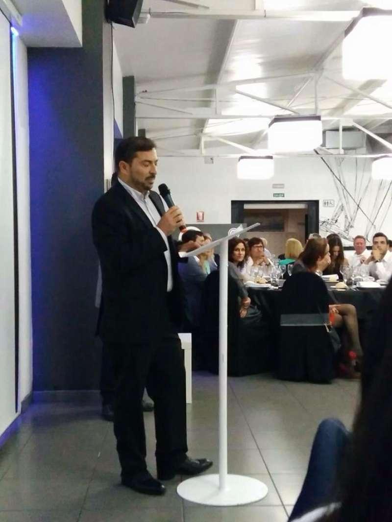 Pere Valenciano, en su presentación. FOTO EPDA