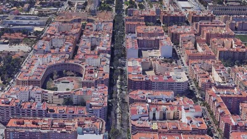 Plano de las calles de Torrent. EPDA
