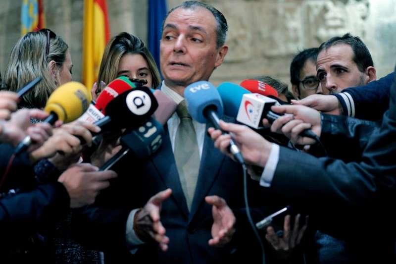 El presidente de la patronal autonómica (CEV), Salvador Navarro. EFE/Archivo