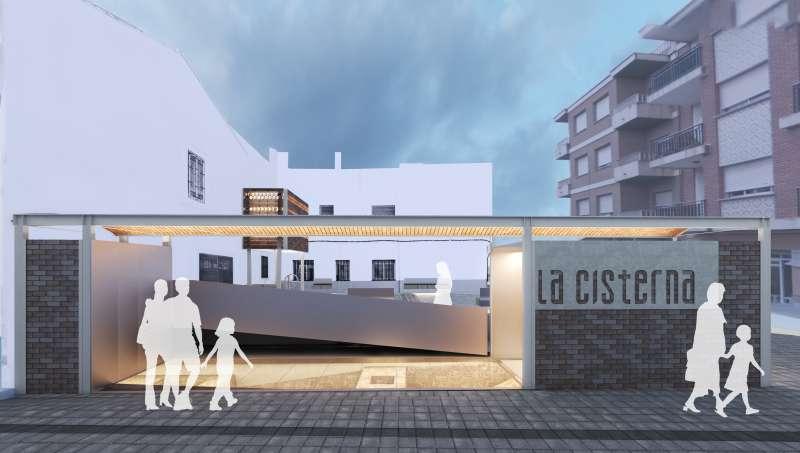 Projecte La Cisterna. / EPDA