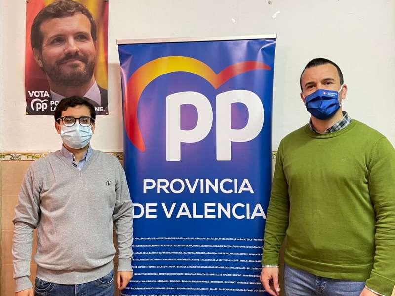 Marcos Campos y Vicente Mompó