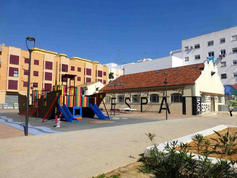Espacio de Viviendas en Alfafar. EPDA