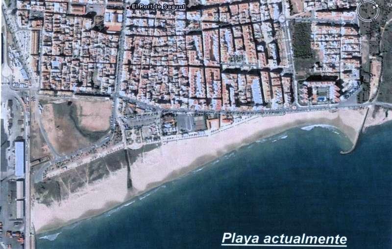 Imagen de la playa de Port de Sagunt. EPDA