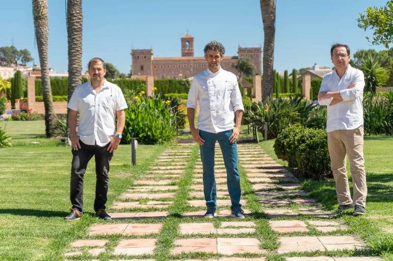 Pere Valenciano, José Gil y Antonio Pérez. EPDA