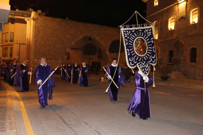 Cofradía de la Stma. Trinidad en el desfile