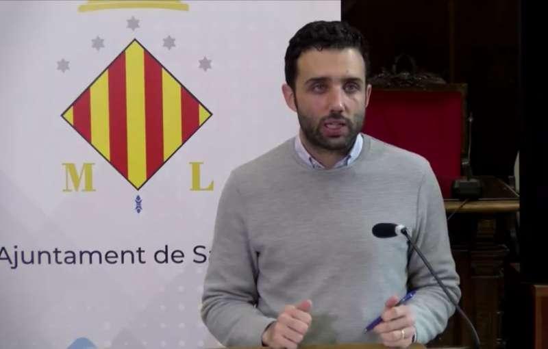 Darío Moreno durante su comparecencia.