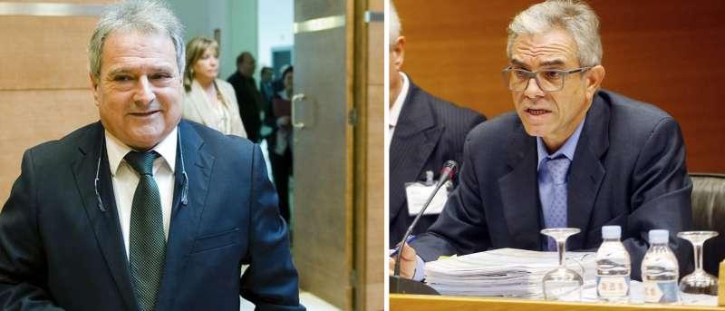 Alfonso Rus y Máximo Caturla