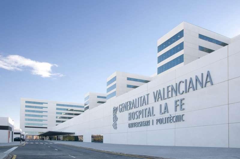 Imagen de archivo del Hospital La Fe de Valencia.
