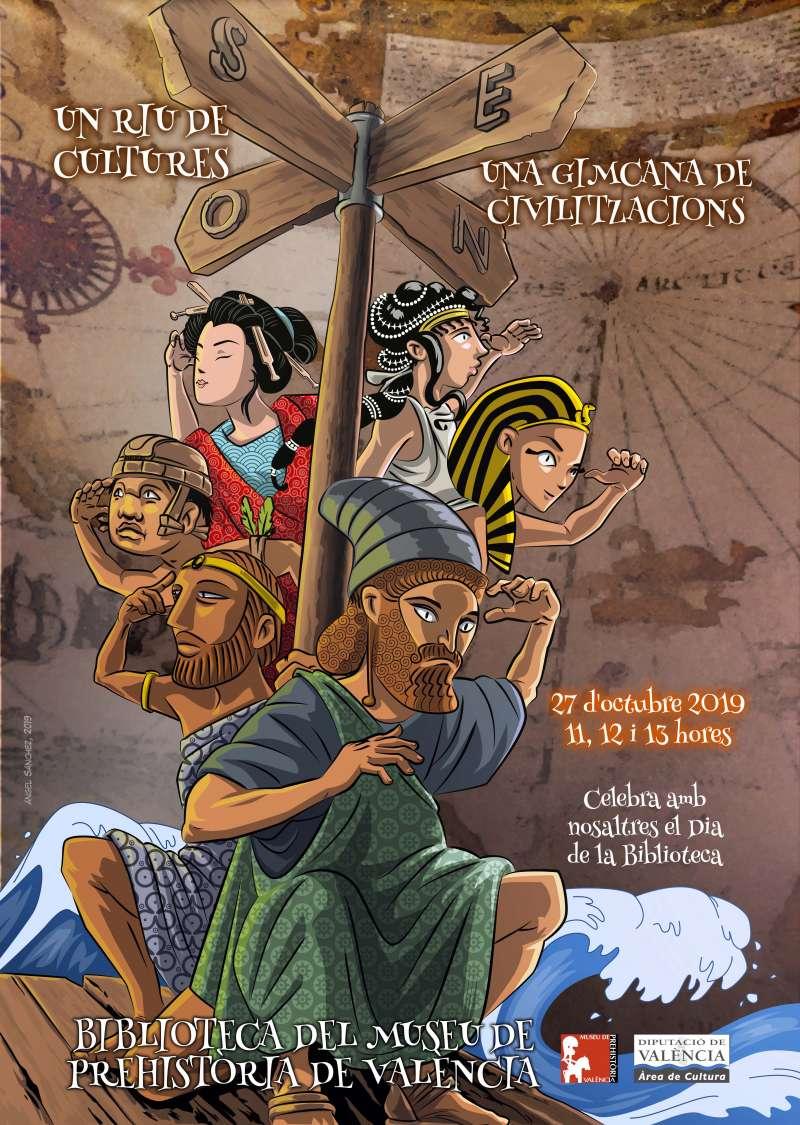 Cartell Biblioteca Museo de la Prehistoria de València
