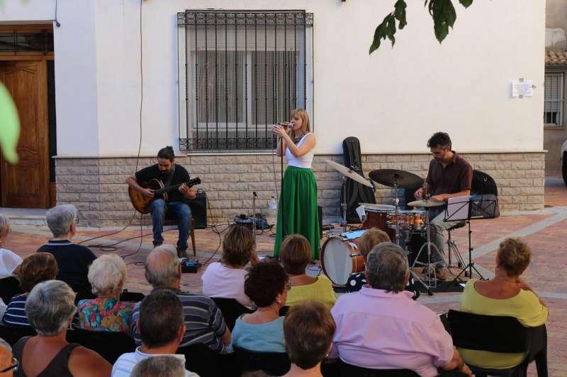 María Gil ya estuvo en Viver el verano pasado