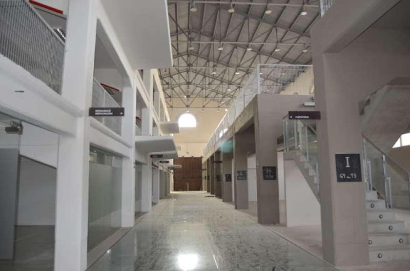 Interior del Museo Industrial de Port de Sagunt. EPDA