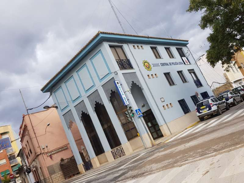 Edifici de la Policia Local Vilamarxant