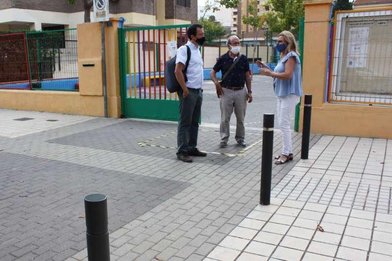 Frances Mezquita visita eL CEIP Lluís Revest/EPDA
